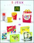 1 Menu + 1 Happy Meal = 1 Jeu de société - Mc Donald - 2014