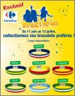 Brazileto - 7 bracelets à collectionner - Carrefour  - 2014