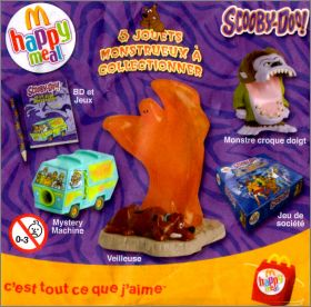 scooby doo 5 jouets monstrueux collectionner happy. Black Bedroom Furniture Sets. Home Design Ideas