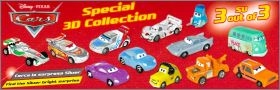 Cars - Disney Pixar - Special 3D Collection - Zaini - 2013