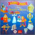 La Belle et la Bête   Disney - Happy Meal - Mc Donald  2002