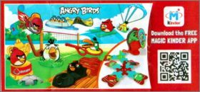 Angry Birds - Magic Kinder Joy FF601 à FF608, FF140, FT072C