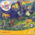 Alpha & Omega - Happy Meal -  Mc Donald -  UK - 2010