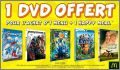 1 Menu (maxi) + 1 Happy Meal = 1 DVD - Mc Donald - 2015