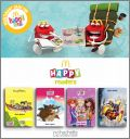 4 Livres Hachette Happy Meal readers Mc Donald Octobre 2015