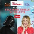 Violetta et Star Wars Rebels Disney - Flunch - Décembre 2015