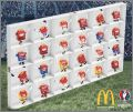 24 Figurines Happy Meal - UEFA Euro 2016 - Mc donald