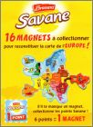 Collectionne les 16 Magnets Carte de l'Europe 2016
