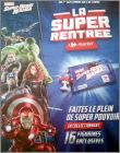 Marvel Super Héros Mania 16 Figurines Carrefour market 2016