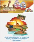 Infinimix Africa Safari  Personnages - Kinder - SD208, SD242
