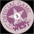 Official Game West - Pogs - 1995