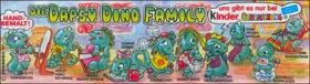 Die Dapsy Dino Family - (Kinder Surprise) - Allemagne