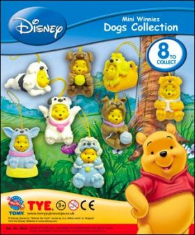 Mini Winnies - Dogs Collection - Disney