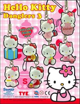 Hello Kitty- Danglers 3 - Tomy