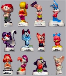 Warner babies Tiny Toon's 12 Fèves Brillantes Alcara 1995