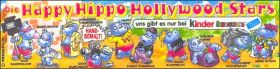 Die Happy Hippo Hollywood Stars