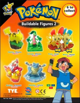 Pokémon - Buildable Figures 02 - Tomy