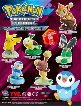 Pokémon Diamond and Pearl - Buildable Figures 03 - Tomy