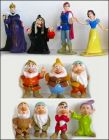 Blanche neige et les sept nains - Disney - Figurines panini