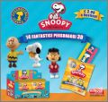 Snoopy - 14 figurines 3D - Edibas - 2013