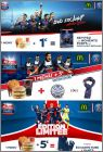 Paris Saint-Germain - Menu Magic Paris - Mc Donald - 2016