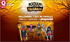 Playmobil Halloween Quick.Playmobil Boouuh C Est Halloween Menu Xl Box Quick