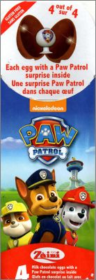 Paw Patrol - Tampons, Gommes 3D, Ventouses - Zaini - 2017