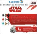 Star Wars Disney - 25 Figurines Micropopz - Leclerc - 2017