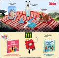 Astérix - Ustensiles de cuisine Happy Meal - Mc Donald 2017