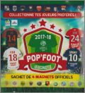 Pop'Foot 2017-18 - Magnets (Maillots L1) - Tournon - France