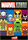 Marvel Kawaii - 12 Figurines 3D - Edibas - 2018