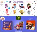 My Little  Pony / Transformers - Happy Meal Mc Donald - 2018