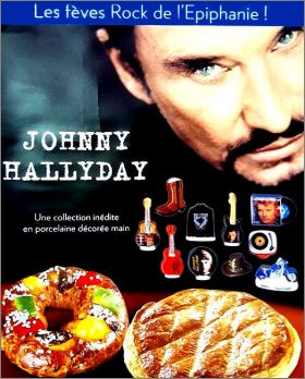 Johnny Hallyday Rock Collection - 10 Fèves Brillantes - 2019