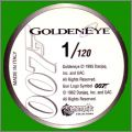 Goldeneye James Bond 007 - 120 Pogs Merlin Collections 1995