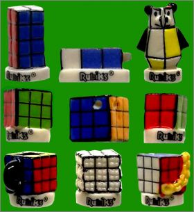 Rubik's cube collection - 9 Fèves Brillantes - Prime - 2019