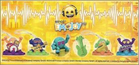 Emojoy Music (série jaune) Kinder Joy EN440 à SE787D - 2019