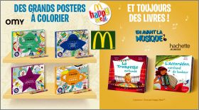 Grands posters à colorier OMY - Happy Meal Mc Donald - 2019