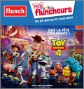 Toy story 4 Disney - Menu Petits Fluncheurs - Flunch - 2019