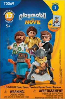 Playmobil the Movie Figures 70069 - Séries 1 - 2019