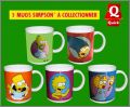 The Simpsons - Les 5 mugs à collectionner - Quick - 1998