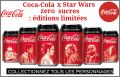 Star Wars - 6 Canettes Coca Cola à collectionner - 2019