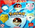 Pokémon (Nintendo) 6 Toupies - Happy Meal - Mc Donald's 2001