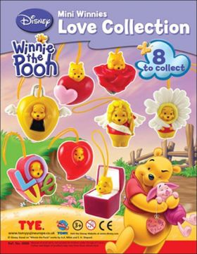 Mini Winnies Love Collection - Disney - Tomy