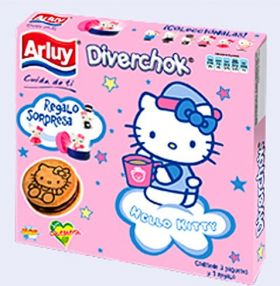 Hello Kitty  - Diverchock - Espagne - Figurines