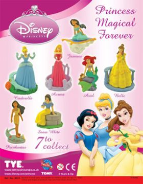 Disney Princess Magical Forever Figures - Tomy