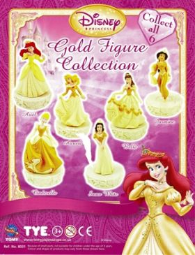 Gold Figure Collection Princesse - tomy - Disney