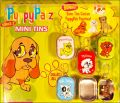 PuppyPalz Mini Tins with Puppy Figurines - Série 2