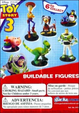 Toy Story 3 - Disney Pixar - Buildable Figures Gacha - Tomy