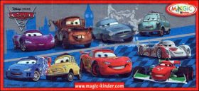 Cars 2 -  Kinder Surprise - UN278 à UN284, 2S-206 et 2S-207