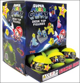 Super Mario Galaxy - Nintendo -  Desktop Figures - Gacha Box